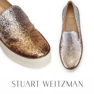 Stuart Weitzman Slip On Sneakers